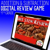 Addition and Subtraction Review Game - Hot Stew Review