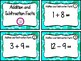 Addition and Subtraction Facts Review Task Cards