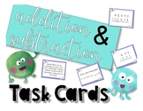 SOL 4.4b Addition and Subtraction Review Task Cards
