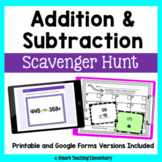 Addition and Subtraction Review: A Scavenger Hunt