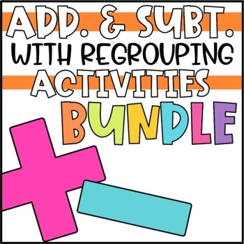 Addition and Subtraction Activities & Games BUNDLE!