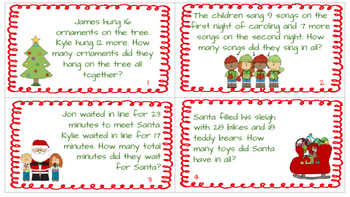 Addition and Subtraction Scavenger Hunt: Holiday Edition