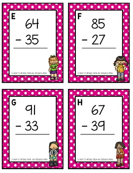 Addition and Subtraction Scoot!