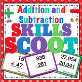 Addition and Subtraction Scoot