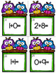 Addition and Subtraction to 10 Task Cards or Scoot Game