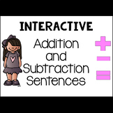 Addition and Subtraction Sentence