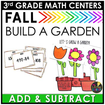 Addition and Subtraction September Math Center