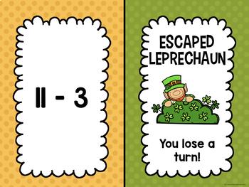 Addition and Subtraction: Shout It Out (Leprechaun Edition Bundle)