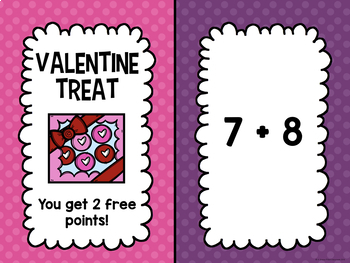 Addition and Subtraction Facts 0-12 within 24 BUNDLE (Valentine's Edition)