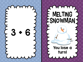 Addition and Subtraction Facts to 12 BUNDLE (Winter Edition)