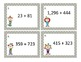 Addition and Subtraction Scoot Shuffle Game Activity CCSS 3.NBT.2