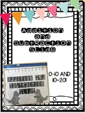Addition and Subtraction Slide