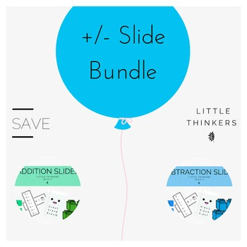 Addition and Subtraction Slide Bundle