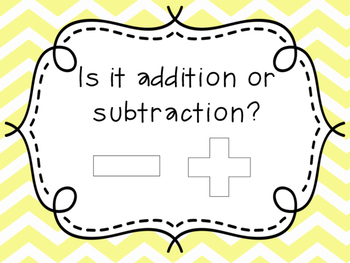 Addition and Subtraction Sort