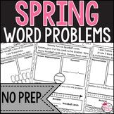 No Prep: Spring Word Problems