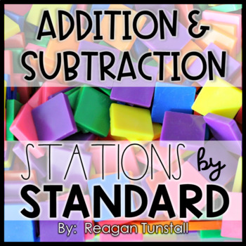 Addition and Subtraction Stations Second Grade