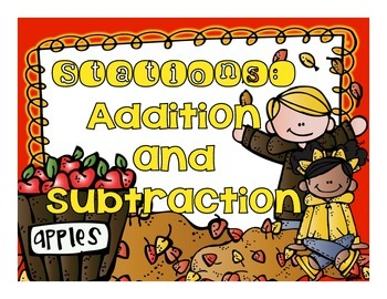 Addition and Subtraction Stations with Regrouping and Borrowing