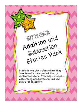 Addition and Subtraction Stories