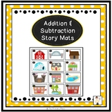 Addition and Subtraction Story Mats