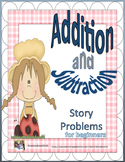 Addition and Subtraction Story Problem Cards for Beginners GARDEN KIDS