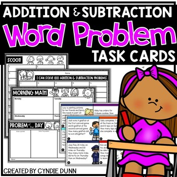 Word Problem Task Cards
