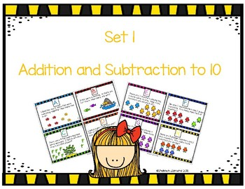 Addition and Subtraction Story Problem Task Cards