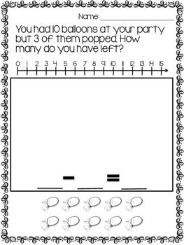 Addition and Subtraction Story Problems