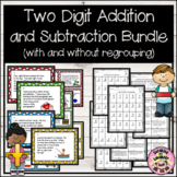 Addition and Subtraction Story Problems Bundle (with and w
