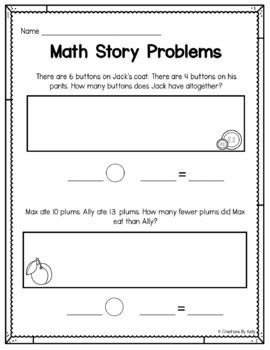 Addition and Subtraction Word Problems | 1st Grade Word Problems Within 20