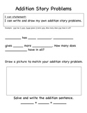 Addition and Subtraction Story Writing