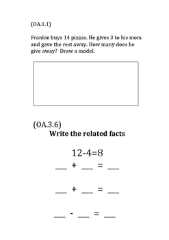 Unit 6-Addition and Subtraction Strategies