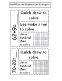 Addition and Subtraction Strategies Activity