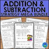 Addition and Subtraction Worksheets Mega Bundle - Expanded Form Strategy