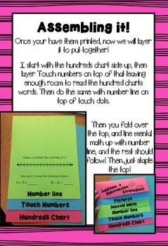Addition and Subtraction Strategies Flip Book!