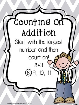 """""""Addition Games"""" By Strategy and Posters (Little Prep)"""