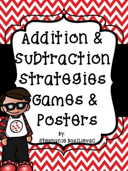 """Addition Games"" By Strategy and Posters (Little Prep)"