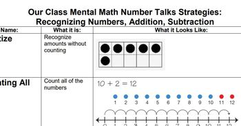 Addition and Subtraction Strategies for All Learners