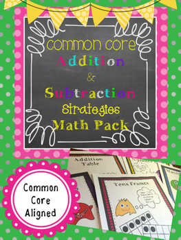 Addition and Subtraction Fluency Strategies 0 - 20