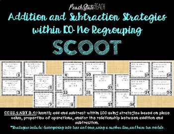 Addition and Subtraction Strategies within 100 SCOOT