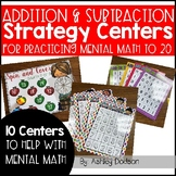 Addition and Subtraction Strategy Centers