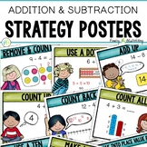 Number Talk Strategy Posters (Addition & Subtraction)