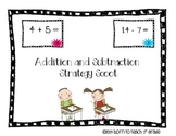 Addition and Subtraction Strategy Scoot