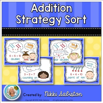 Addition and Subtraction Strategy Sort BUNDLE