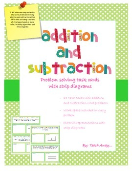 Addition and Subtraction: Strip diagrams