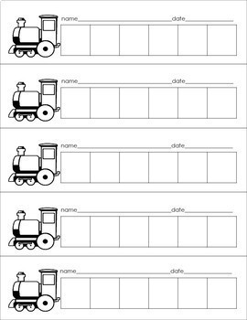 Addition and Subtraction TRAINS