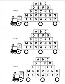 Addition and Subtraction TRAINS BUNDLE