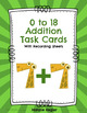 Addition and Subtraction Task Card Bundle With Recording Sheets