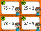 Addition and Subtraction Task Cards (2 digit by 1 digit)