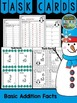 Winter Addition and Subtraction Task Cards Bundle