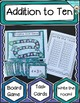 Addition and Subtraction Task Cards / Board Games / Write